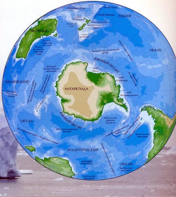 южный океан фото