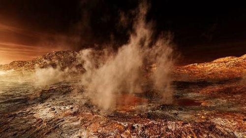 Пыльные бури на Марсе