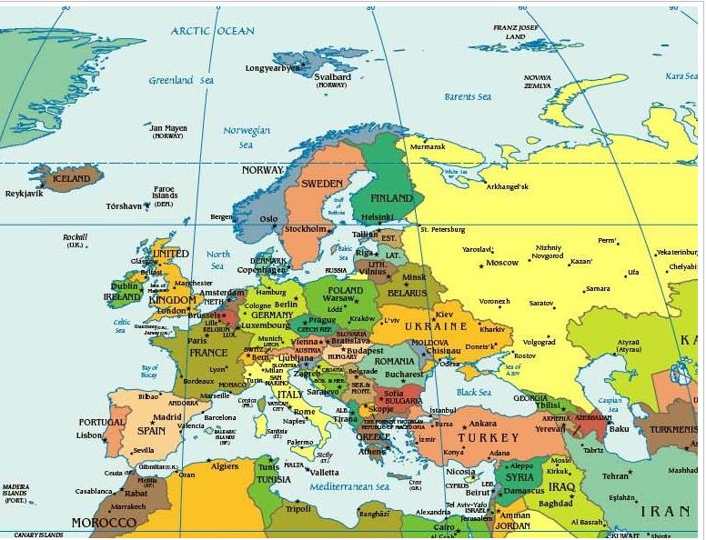 Европа фото